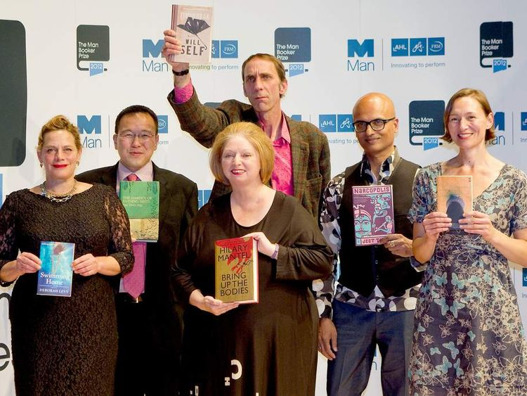 The six writers shortlisted for the 2012 Man Booker prize for fiction