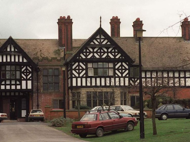 The former Bryn Estyn boys home in Wrexham