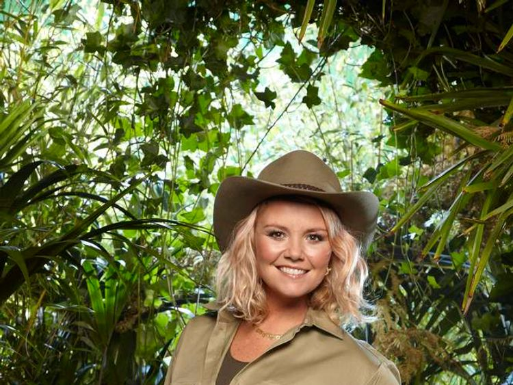 Charlie Brooks takes part in I'm A Celebrity... Get Me Out Of Here! (ITV)