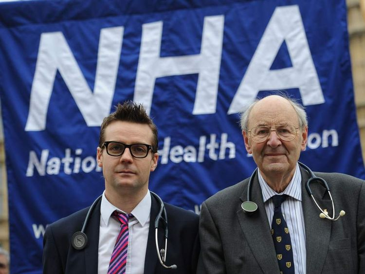 Dr Clive Peedell (L) and Dr Richard Taylor (R)
