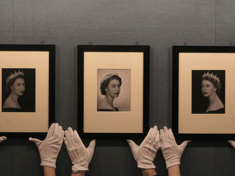 The Queen: Portraits of a Monach exhibition