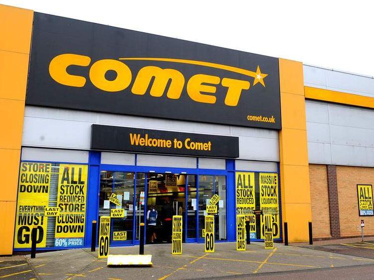 Comet closure