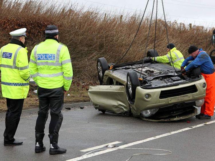 Two car crash leaves three dead