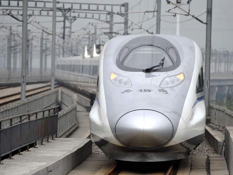 CHINA Train 2