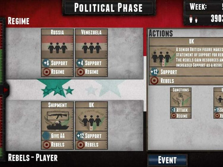SYRIA Videogame 2