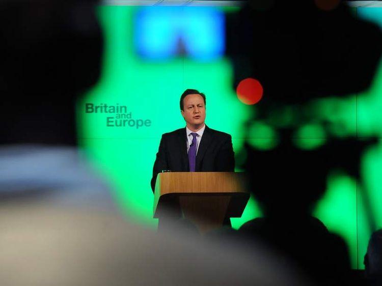 David Cameron Europe Speech