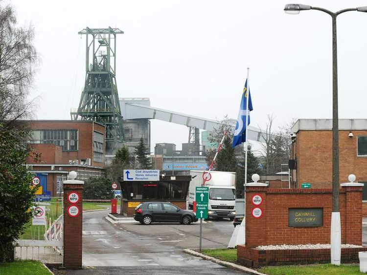 Daw Mill Colliery closure