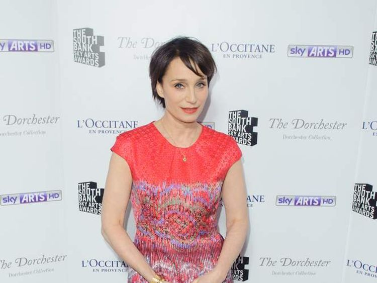 Kristin Scott Thomas at South Bank Awards