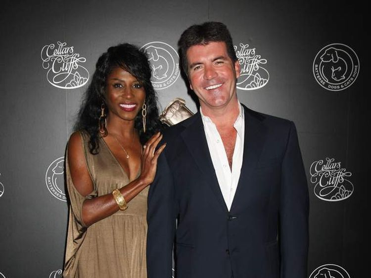 Simon Cowell and Sinitta 2009