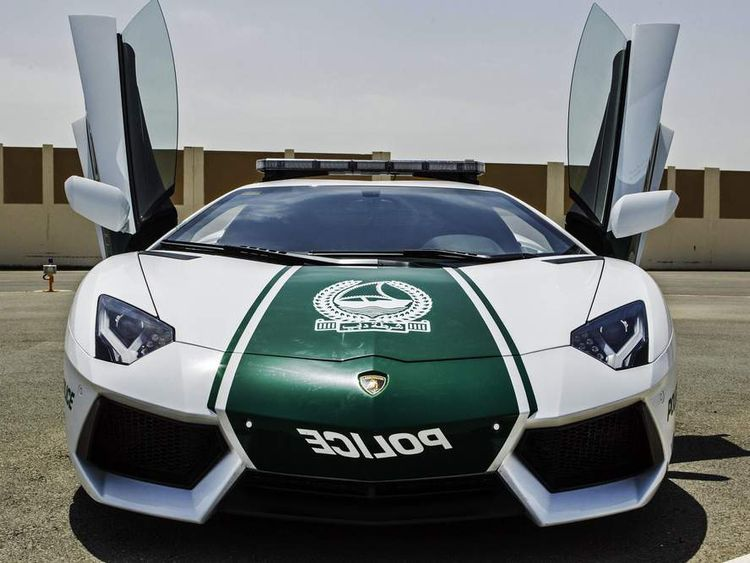 Dubai police have added a Lamborghini to their crime-fighting fleet.