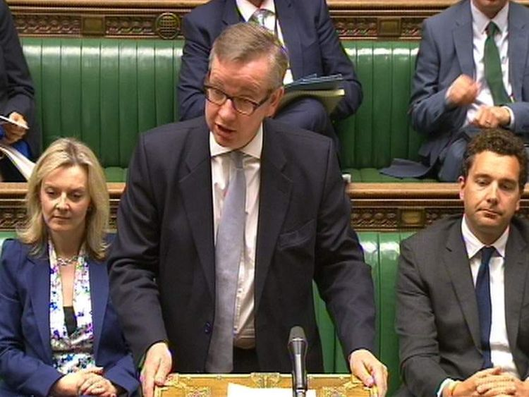Michael Gove statement to the Commons
