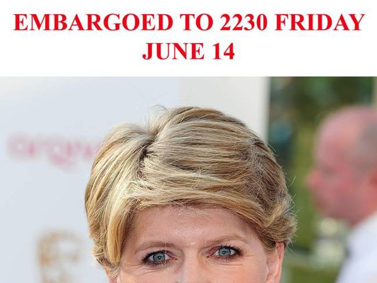 Clare Balding who received an OBE.