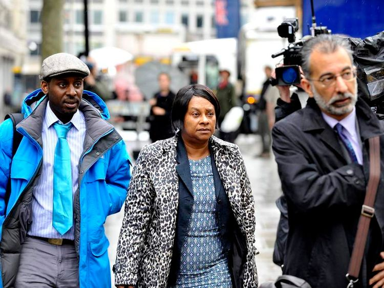 Doreen Lawrence, mother of murdered teenager Stephen Lawrence