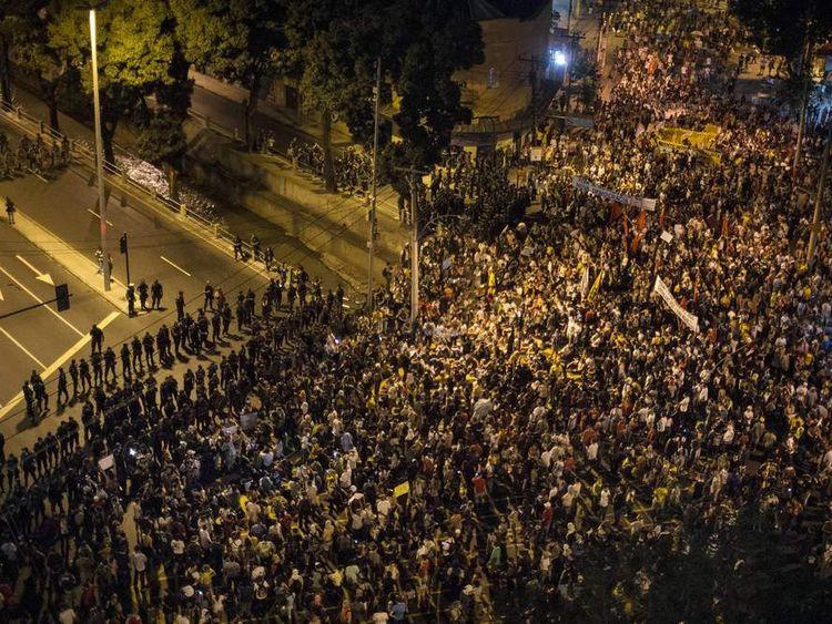 BRAZIL Protests 3