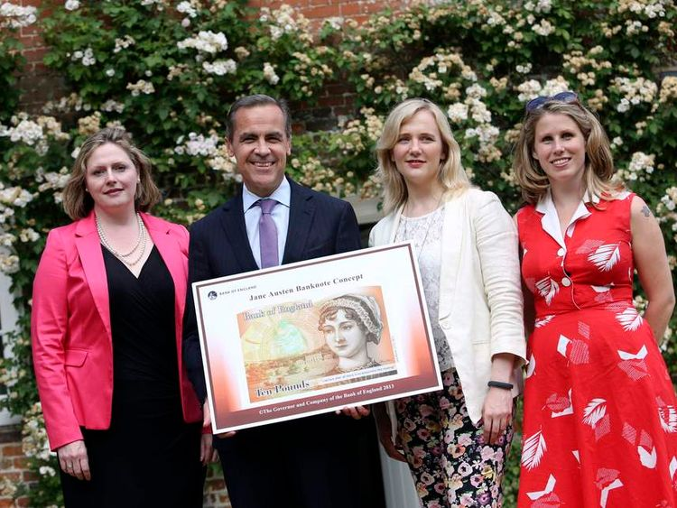 Jane Austen to feature on banknote