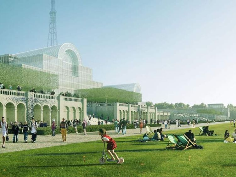 Plans to rebuild Crystal Palace