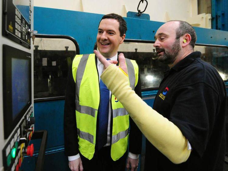 Osborne on the economy in 2014