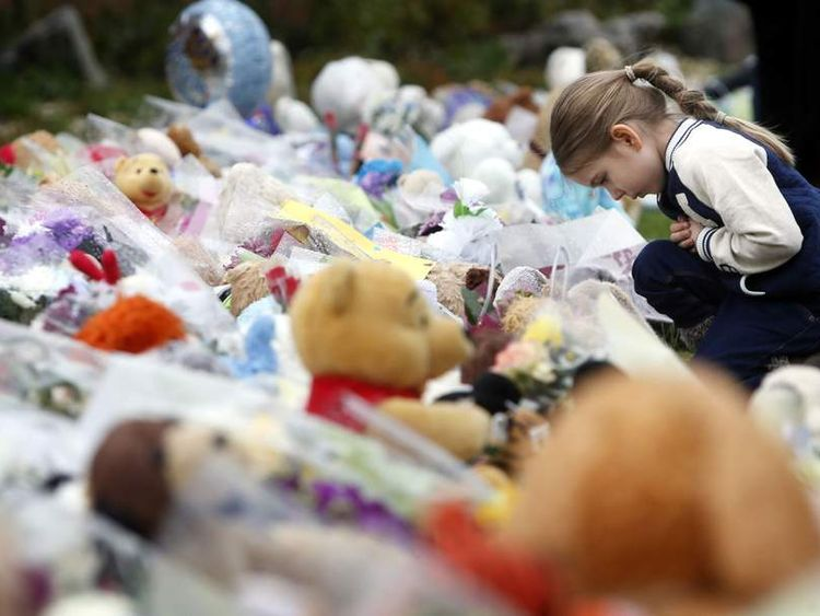Tributes have been left to three-year-old Mikaeel Kular.