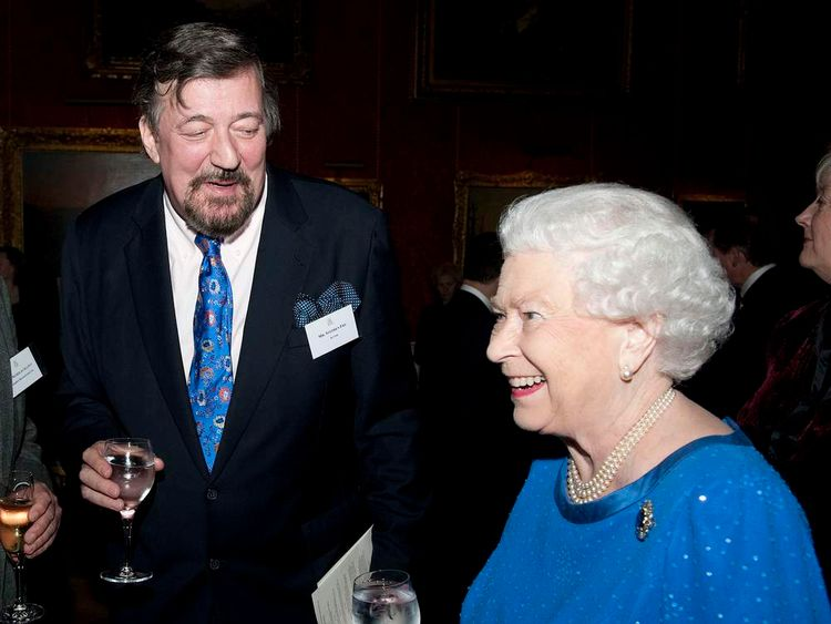 The Queen and Stephen Fry