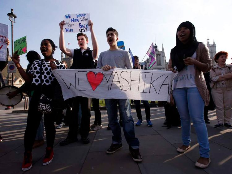 Yashika Bageerathi deportation