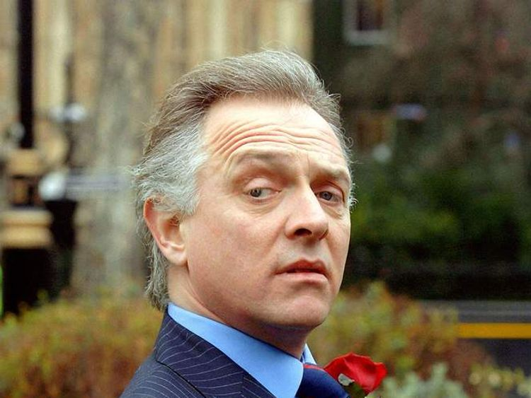 Rik Mayall as Alan B'Stard in The New Statesman