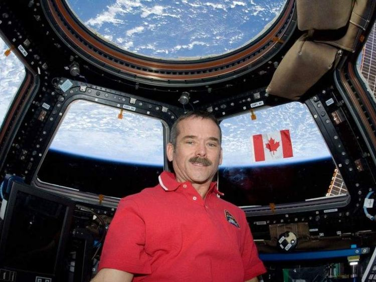 Twitter caption: I'm proud of being Canadian, but after yesterday's twitter conversation am starting to question wearing this red shirt
