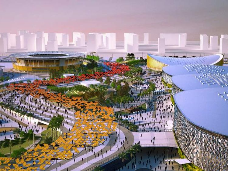 Computer generated images show how the 2016 Rio Olympic Games will look