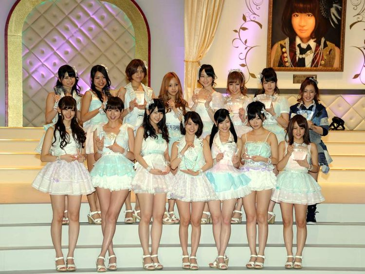Japaneser all-girl group AKB48