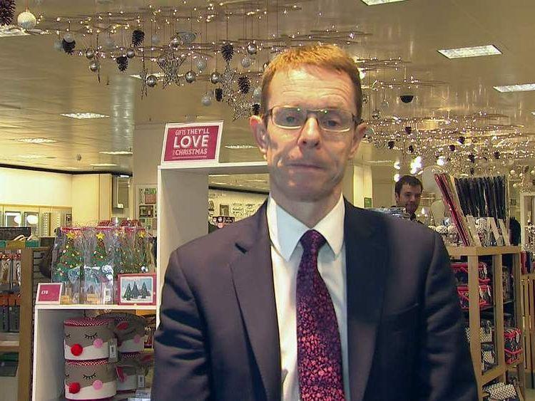 John Lewis boss Andy Street