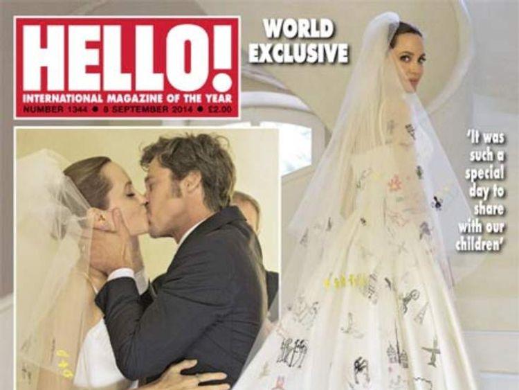 Jolie-Pitt wedding