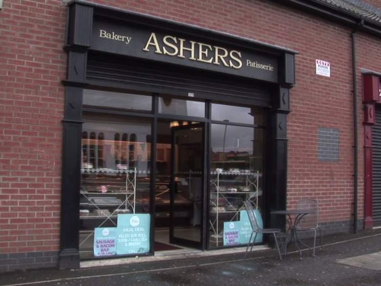 Ashers bakers. Courtesy of The Christian Institute