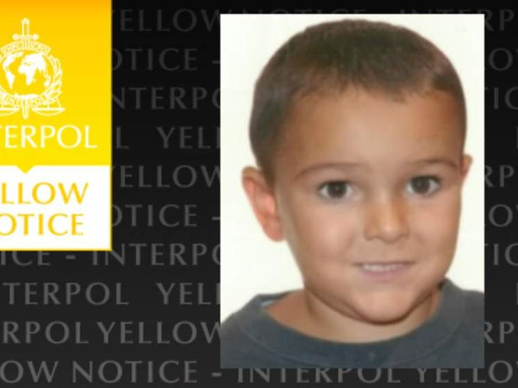 Interpol yellow notice alert for missing boy Ashya King