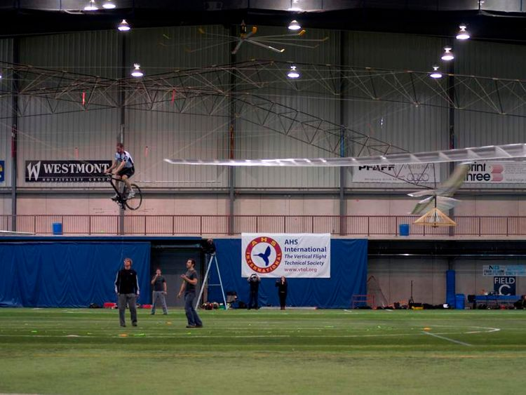 AeroVelo's winning flight