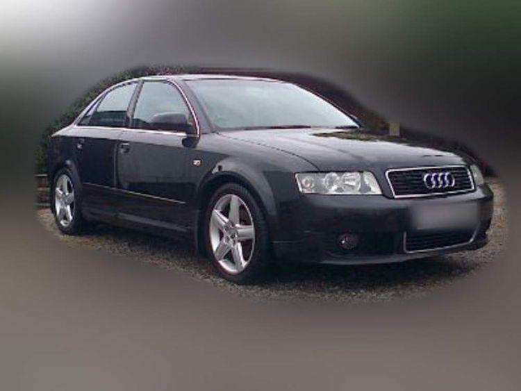 Police released an image of a car similar to David Black's Audi A4