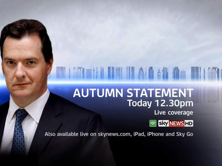 Autumn Statement by George Osborne
