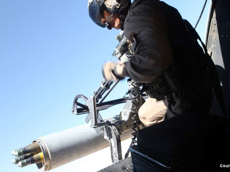 BAE Systems' APKWS missile use in Afghanistan (Pic: USMC)