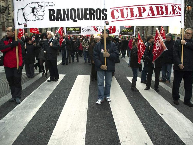 Bankia Demonstration
