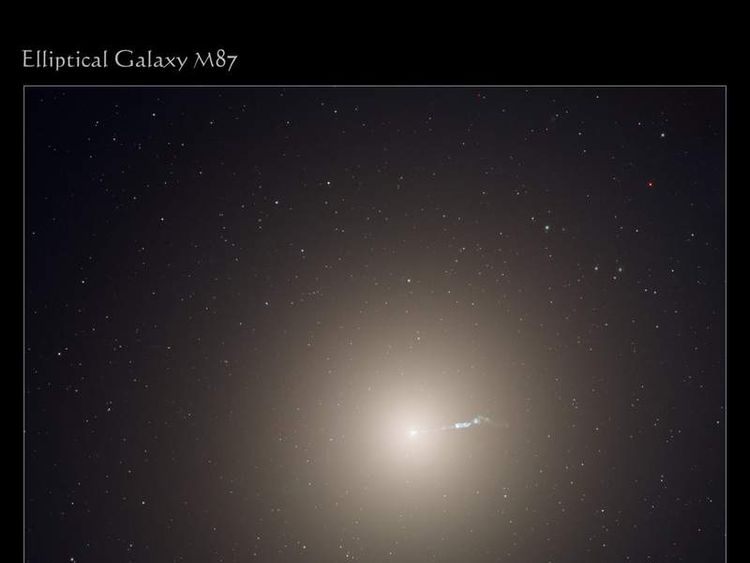 The monstrous elliptical galaxy M87