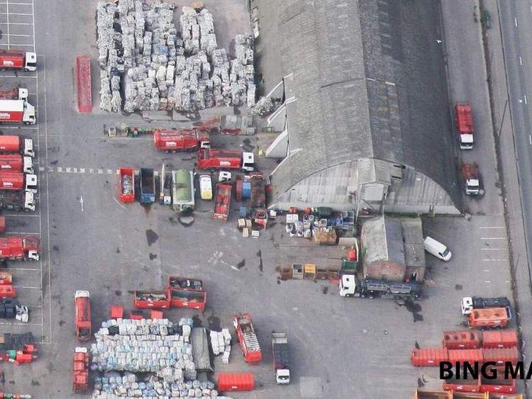 Biffa depot Bristol