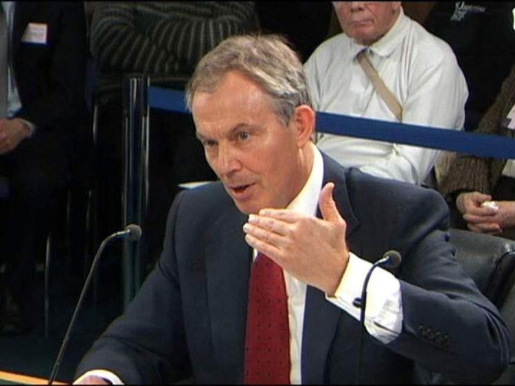 tony blair iraq inquiry 2010