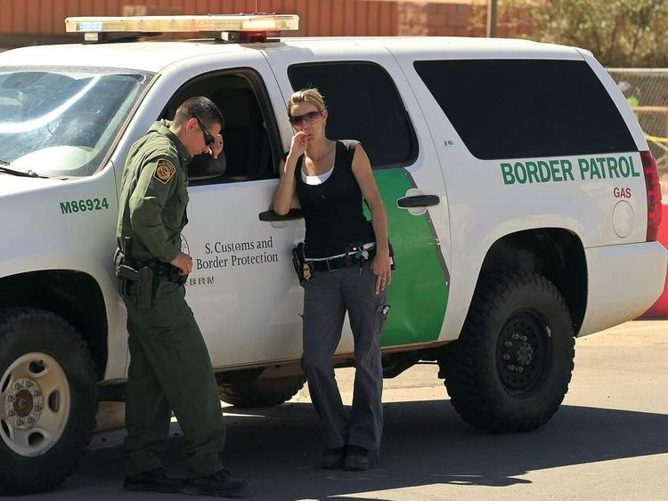 US border agents in Arizona