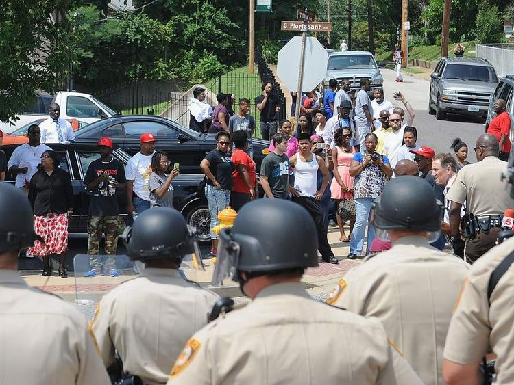 Protests continue in Missouri town