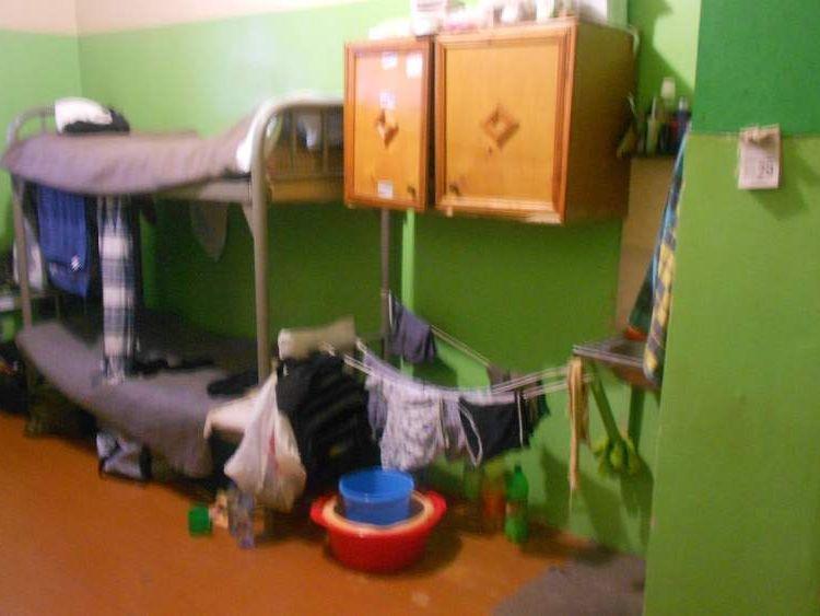Inside cells at the Murmansk detention centre