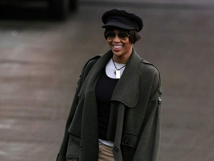 Naomi Campbell Reports For Her Court Ordered Community Service