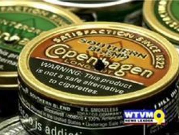 Tobacco tins found at Shrout's home