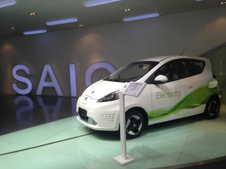 The world's fastest electric car at the Shanghai Motor Show