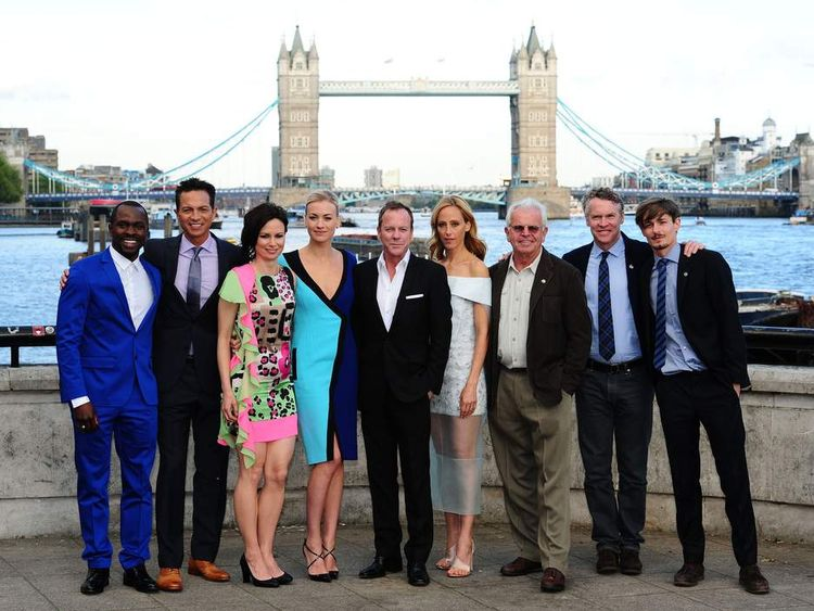 The cast of 24: Live Another Day in London