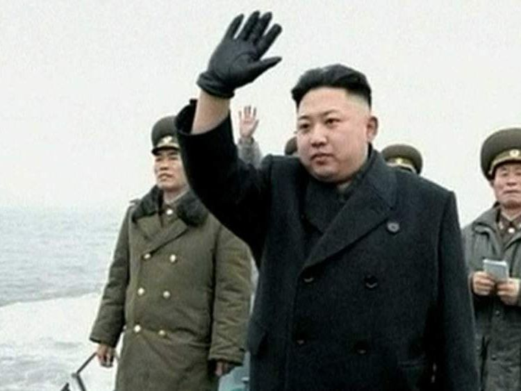 North Korean leader Kim Jong-un visits troops