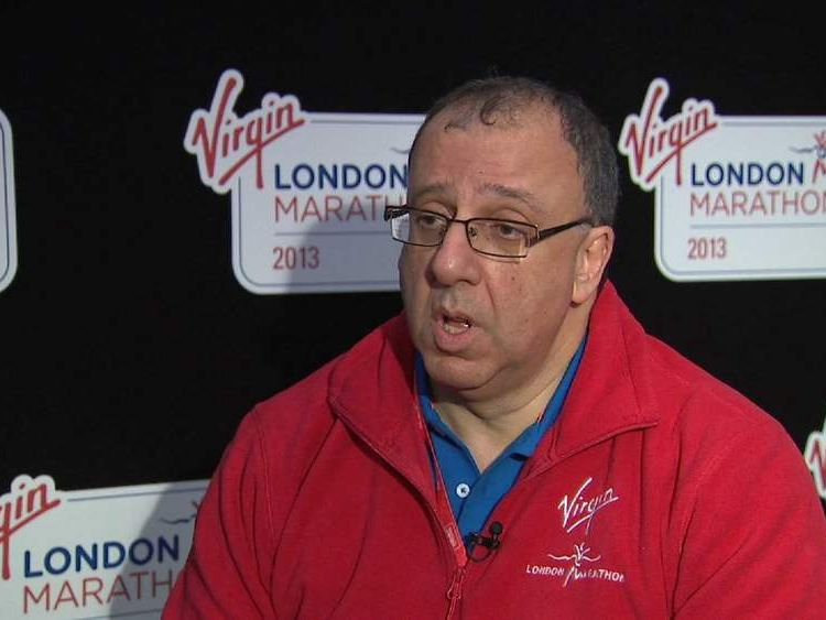 Nick Bitel, London Marathon Chief Executive