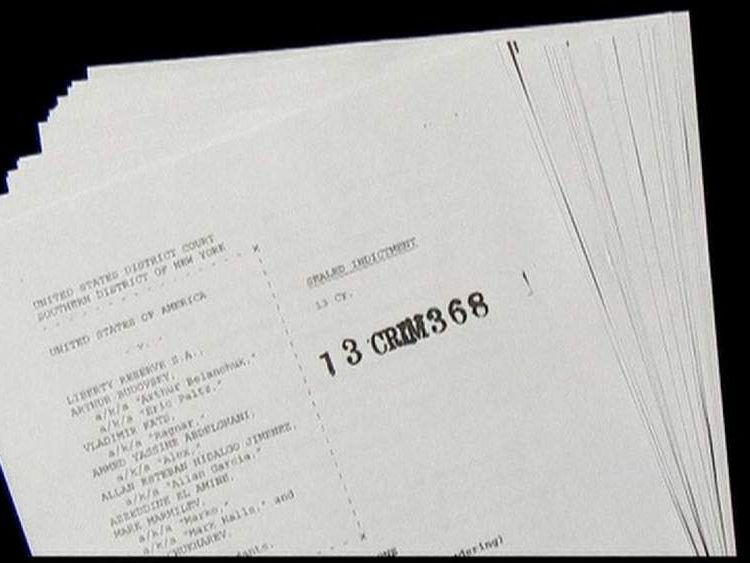 Indictment US money laundering scam